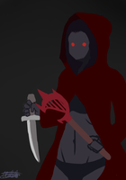 Lilian, the Blood Mage(WIP)2 by globeley