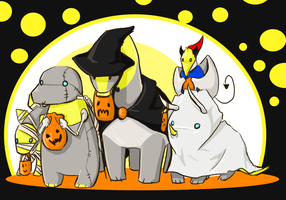 Dinobot EARLYHALLOWEEN by RottenDeadpan