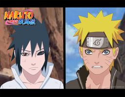 Sasuke and Naruto Shippuden by Sarah927