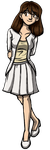 Church Girl - Mary Bradford from Dumbing of Age by DeathbyChiasmus