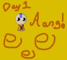 Avatar Month Day 1 Aang by LataraTheWaterBender