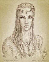 Idril Celebrindal by aautio
