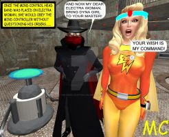 Electra Woman Meets The Mind Controller by The-Mind-Controller
