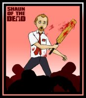 Shaun of the Dead by purgatoryboy