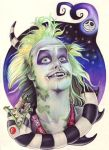 Beetlejuice by Donna M Evans by Prismacolorists