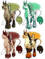 Pwalus adoptables by DGAdopts