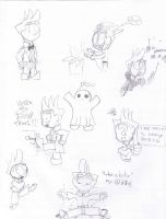 Faul's randomness sketchdump by Faul-T-Wiring