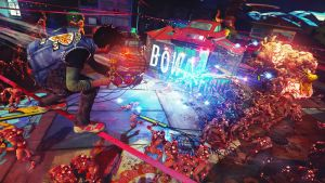 Sunset Overdrive Roman Candle Game Wallpaper by MatrixUnlimited