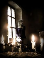 Candle-light by AlexisPhotoart
