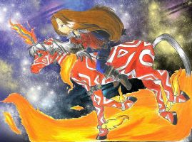 .::Rider of the Astral Fire::. by Shinomori-Misao