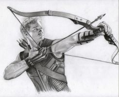Hawkeye by Pencilsketches
