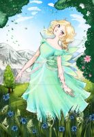 Fairy landscape by Fiorina-Artworks
