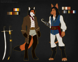 Jaqard and Jaques (Ref sheet) by J-Harper