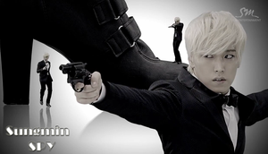 Sungmin Spy Wallpaper by MikaAlaMode