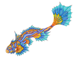 Strange Fish - Adoptable #1 by DelusionalPuffball