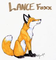 Lance Foxx Badge by CunningFox
