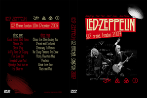 Led Zeppelin O2Arena-DVD cover by MahoneyCZ