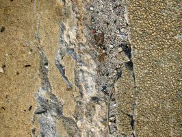 Texture - Gash in Concrete by darlingstock