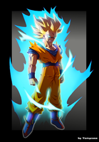 Super Saiyen God? by Tomycase