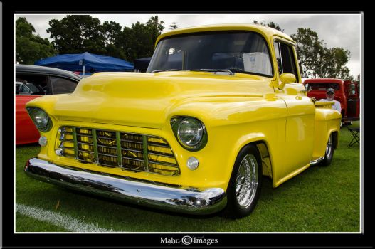 57 Chevy 3100 by mahu54