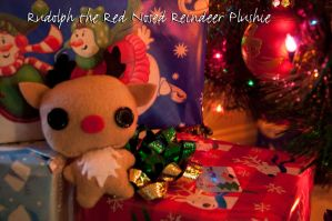 Rudolph the Red Nosed Reindeer Plushie by Demi-Plum
