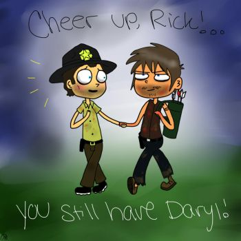 cheer up, rick! by Spongebobluvr66