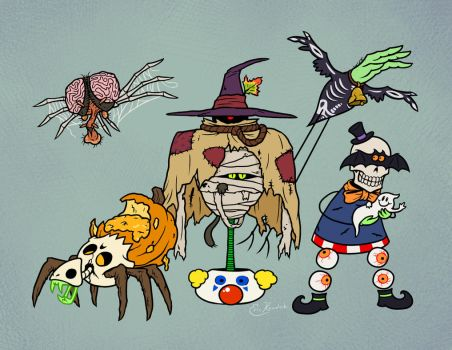 Halloween 14: Mishmash by Monster-Man-08