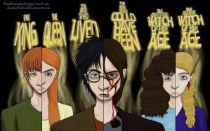 Harry Potter---We Fight as One by QuietLittleBlackbird