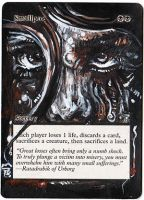 Magic Card Alteration: Smallpox by Ondal-the-Fool