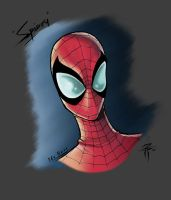 Spidey Bust colorzZz by FooRay