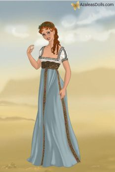 Thumbelina - Roman Lady by IndyGirl89