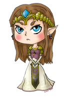 Twilight Princess Zelda by Chibi-Taro