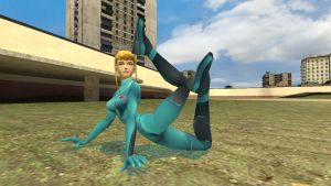 Flexible Samus by enterprisedavid