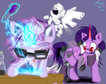 Commission - Bots! by Frist44