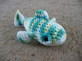 Tropical fish amigurumi by craftybird