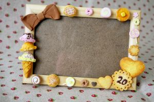 Sweets Deco Frame by li-sa