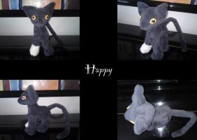 Happy the cat by nfasel