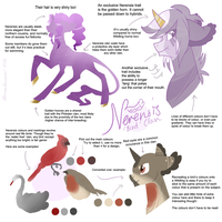 Wildling Reference Sheet: 'Nerensis' Clan by Rannarbananar
