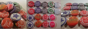Bottle Caps Preview by MermaidSoupButtons