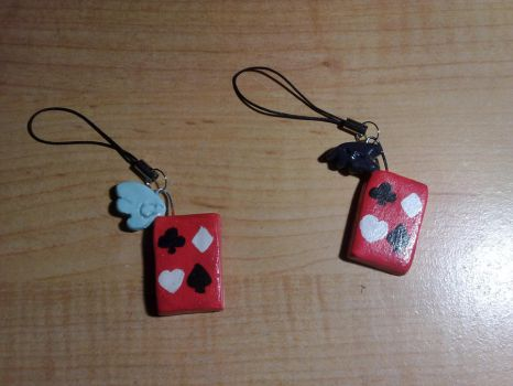 Liar Game Clay Cellphone Straps by petalxrain