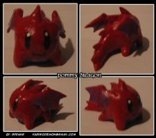 Pommy Dragon Figurine by Spring-the-Rabbit