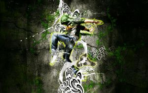 the green dancer by overminded-creation