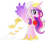 Look! I Put On A Pretty Dress For You! by Echo-and-Hazel-ponis