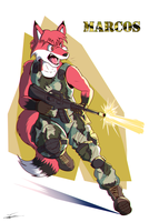 Marcos Private Soldier by paladin095