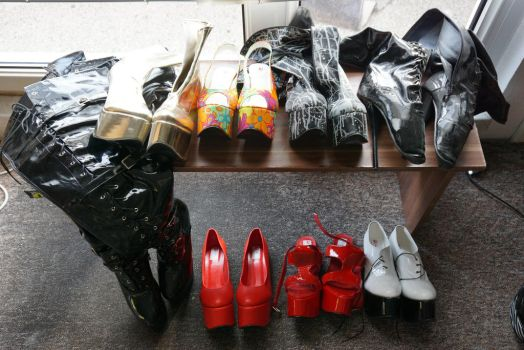 Collection Pony/Ballet Heels 4.2017 by Sandower