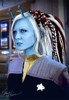 andorian photomanip by AlainaM