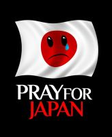 Pray 4 Japan by caesarleo