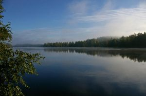 Morning Mist On Vuoksi by wolfheart83