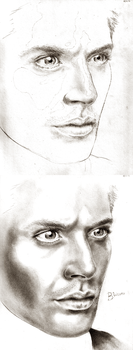 Jensen Ackles WIP 2 by bwenner