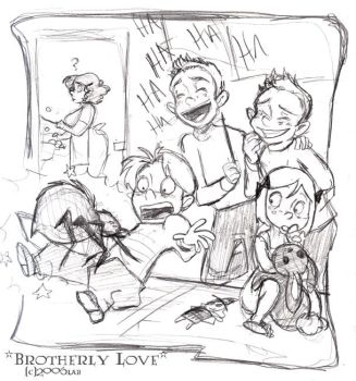 Brotherly Love - HP by lberghol